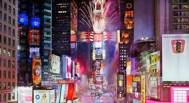 New Years Eve 2015 in New York City