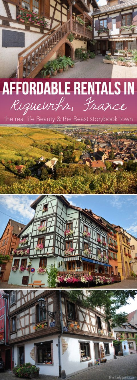 Affordable Rentals in Riquewihr France + What I'd Wear! // thinkelysian.com